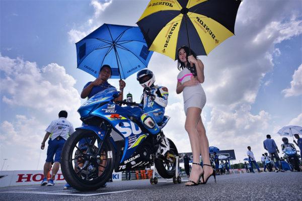 ARRC亞洲杯統規賽指定用車Suzuki台鈴GSX-R150