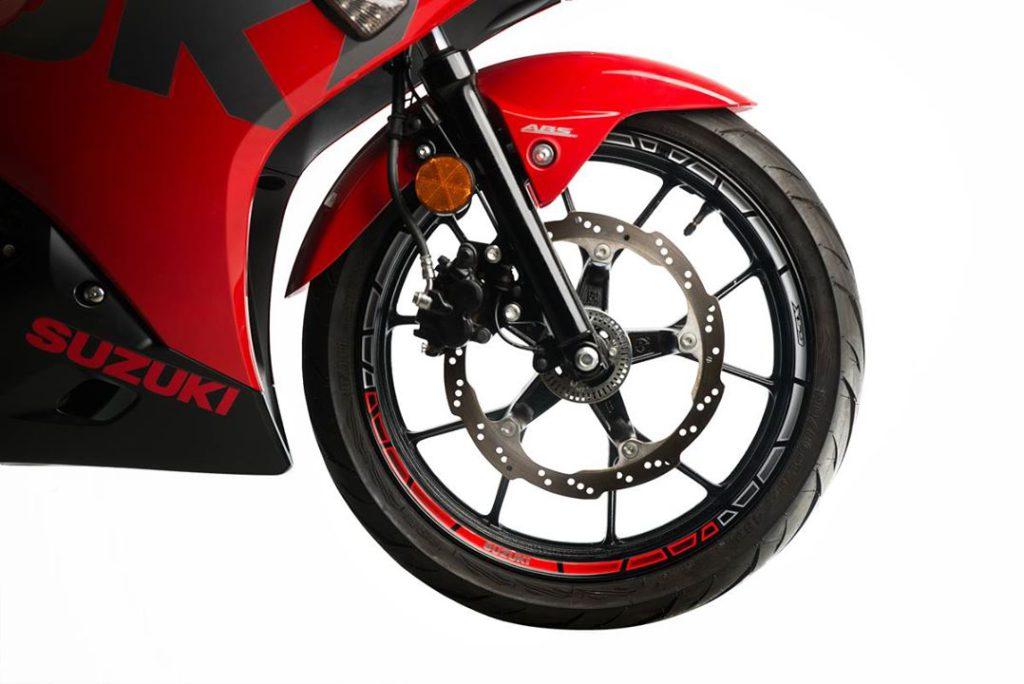 GSX-R150/S150SUZUKI原廠競賽風格輪框貼