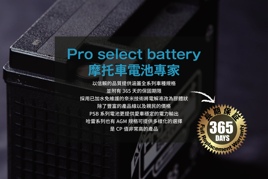 Pro Select Battery膠體電池