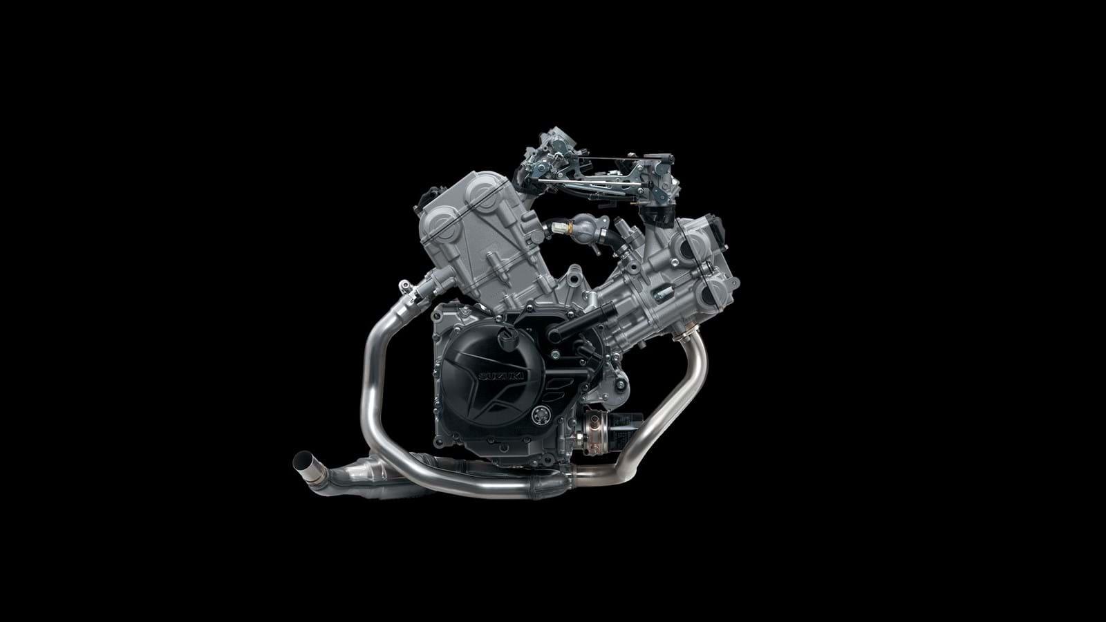 SV650 獨特 V-Twin 引擎傳遞出的鼓動感