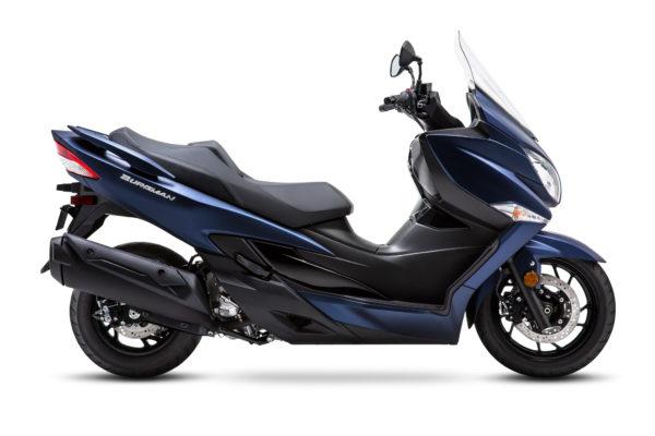 Burgman 400 ABS 新色:消光金屬藍