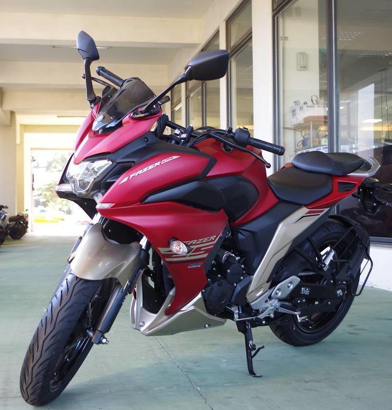 2018 YAMAHA FAZER250 250cc的動力白牌的價格 現正特價 $118,000
