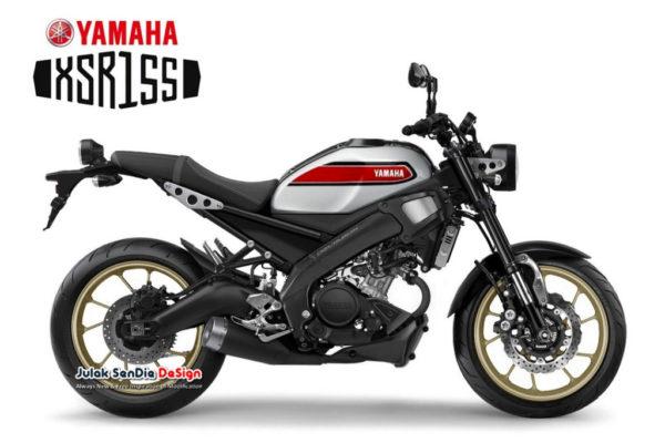New Yamaha 白牌復古小戰將 XSR155 VVA ABS