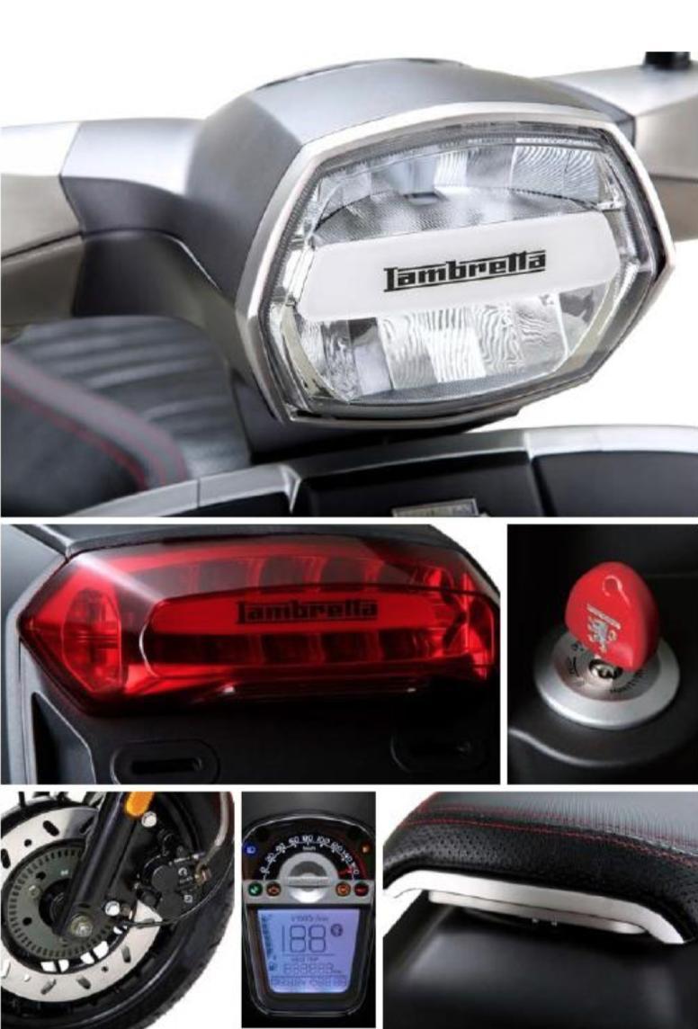 蘭美達 Lambretta V125 Special