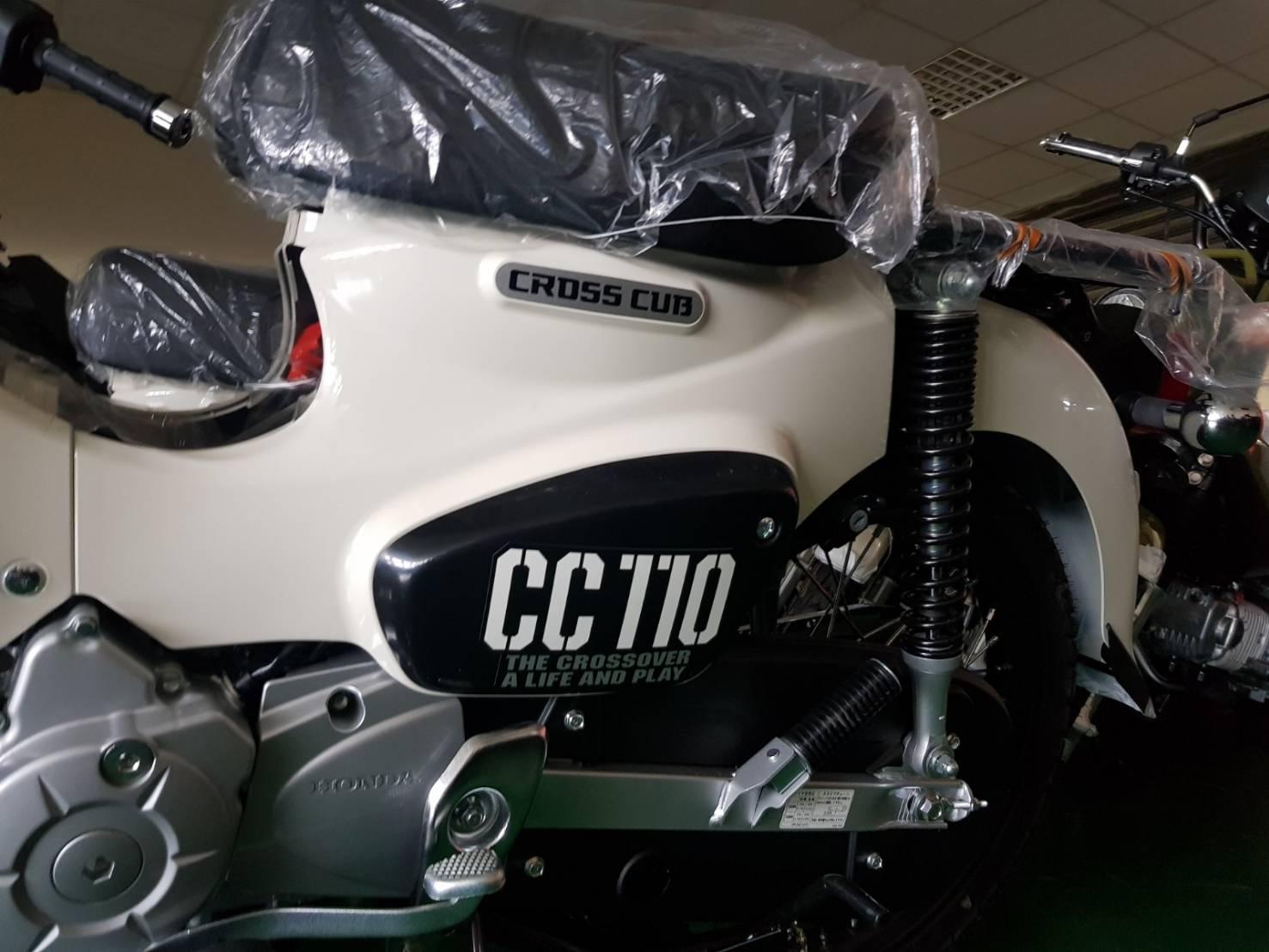 HONDA Cross Cub 50/110 日本改款發售